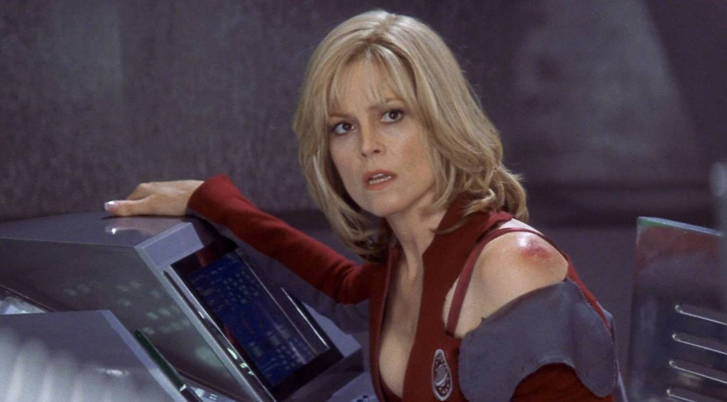 Galaxy quest sigourney weaver hot